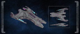 Jem'Hadar Vanguard Heavy Raider [T6]