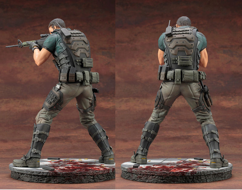 Chris Redfield Vendetta con chaleco Chris12