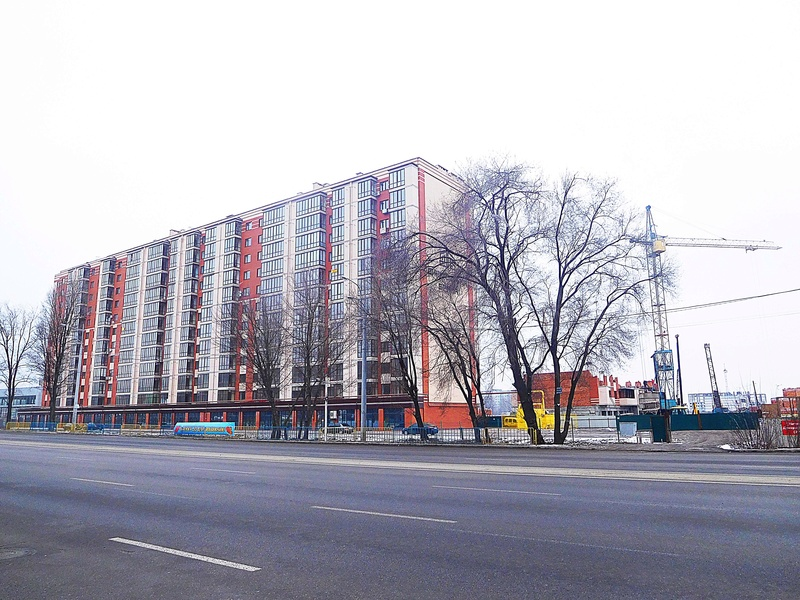 ЖК Днепровская Брама | 10x12 эт. | 2021 строится Dscn9619