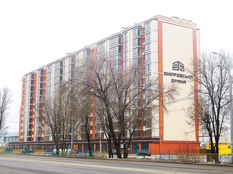 ЖК Днепровская Брама | 10x12 эт. | 2021 строится Dscn9620