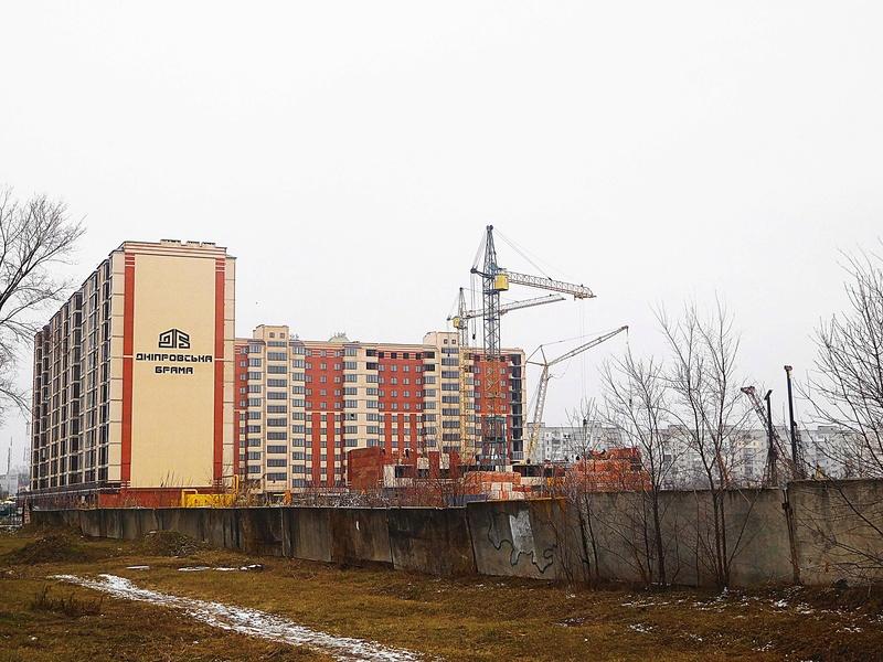 ЖК Днепровская Брама | 10x12 эт. | 2021 строится Dscn9621