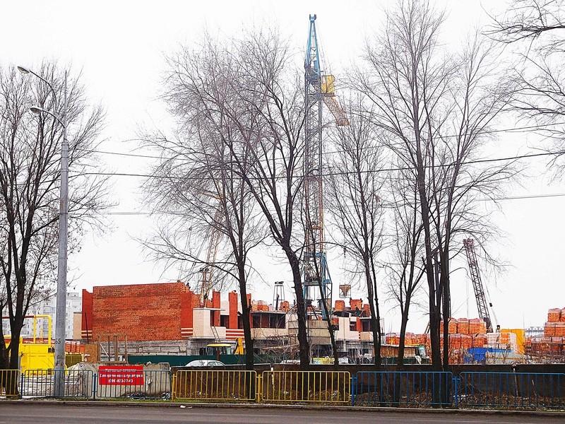 ЖК Днепровская Брама | 10x12 эт. | 2021 строится Dscn9624