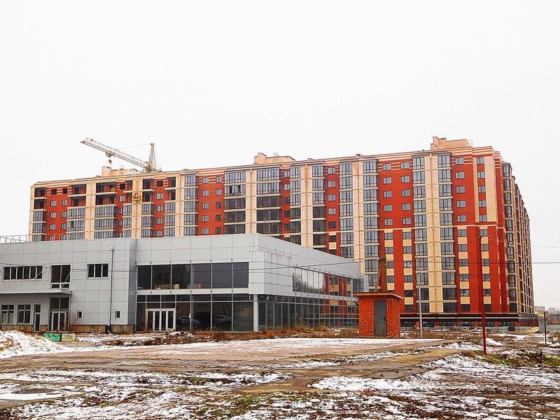 ЖК Днепровская Брама | 10x12 эт. | 2021 строится Dscn9710