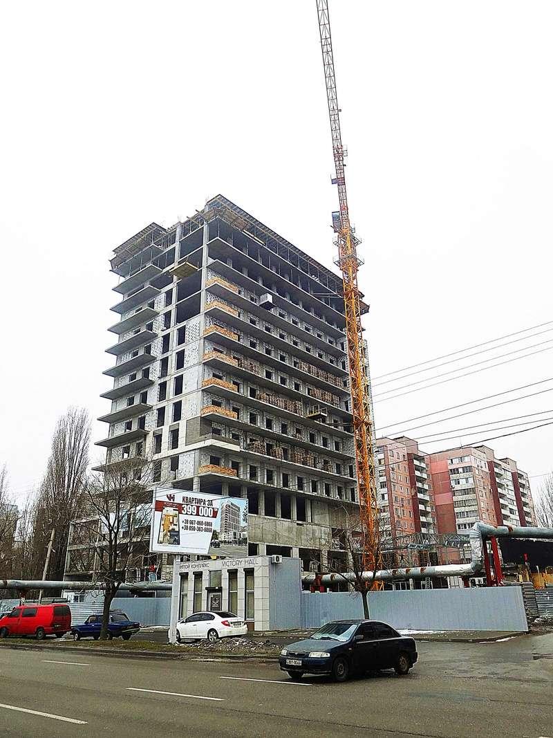 ЖК Victory Hall | 18 эт. | 2019 строится Dscn9815