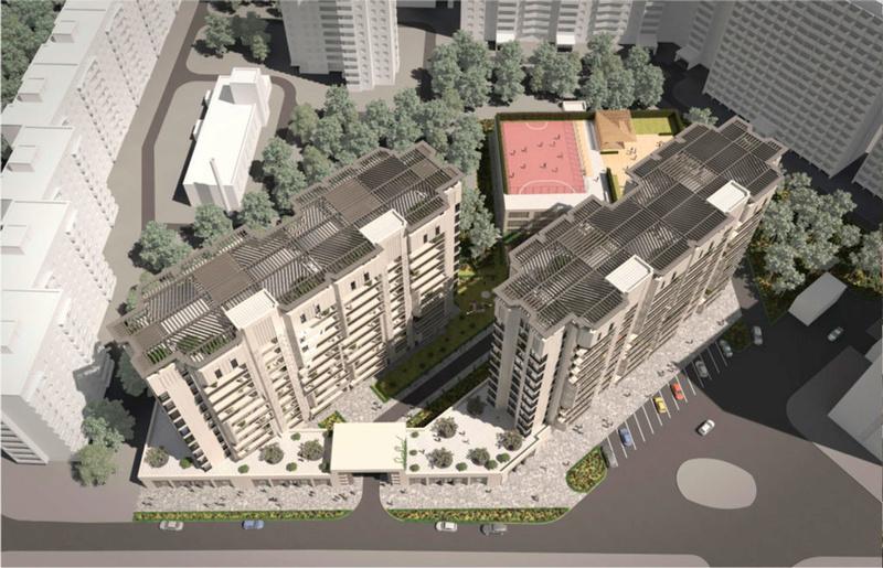 ЖК Comfort City Рыбинский | 2x11 | 2020 строятся Vis113