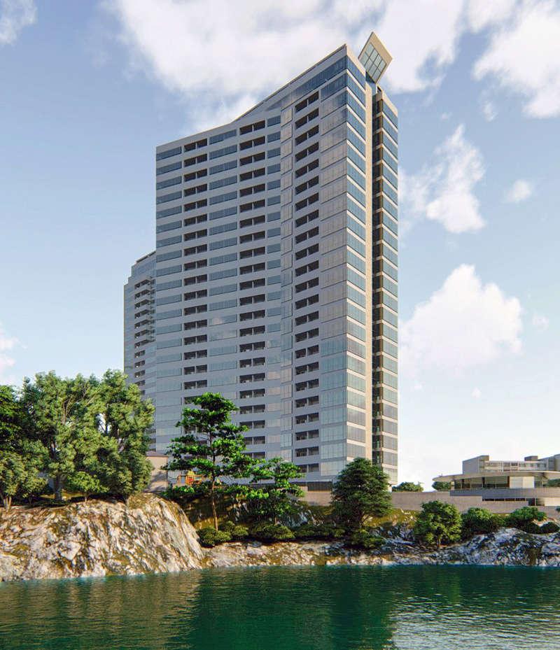 ЖК Новокодакские Башни | 2х25 эт. | 2022 строится Vis131