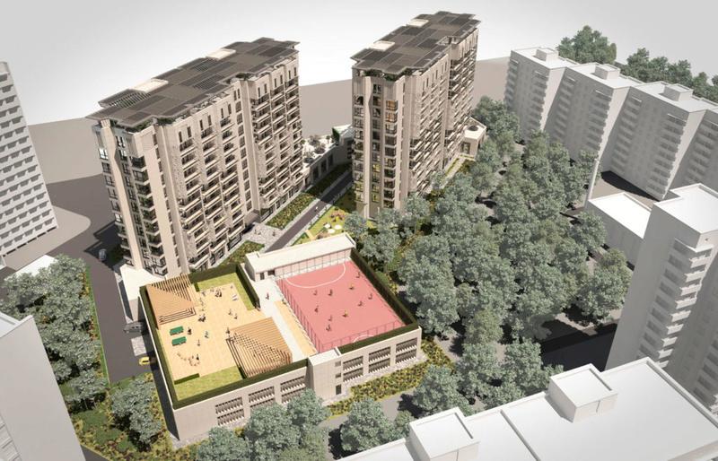ЖК Comfort City Рыбинский | 2x11 | 2020 строятся Vis213