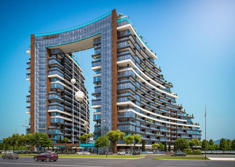 ЖК Delmar Home Club | 2x18 эт. | 2020 строится Vis314