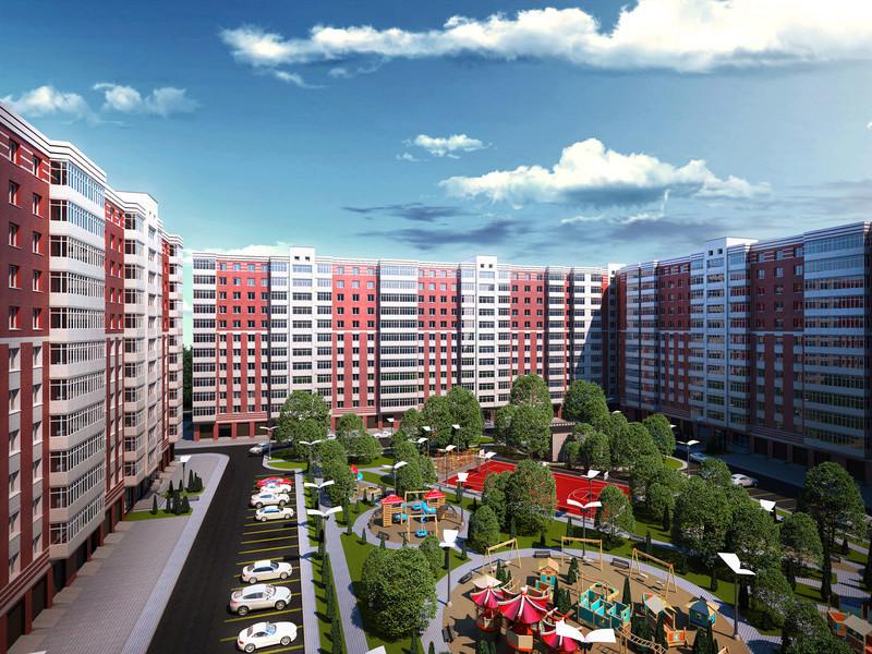 ЖК Днепровская Брама | 10x12 эт. | 2021 строится Vis329