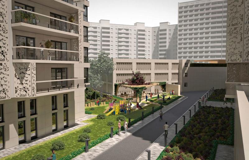 ЖК Comfort City Рыбинский | 2x11 | 2020 строятся Vis412
