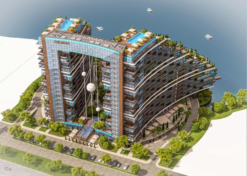 ЖК Delmar Home Club | 2x18 эт. | 2020 строится Vis413