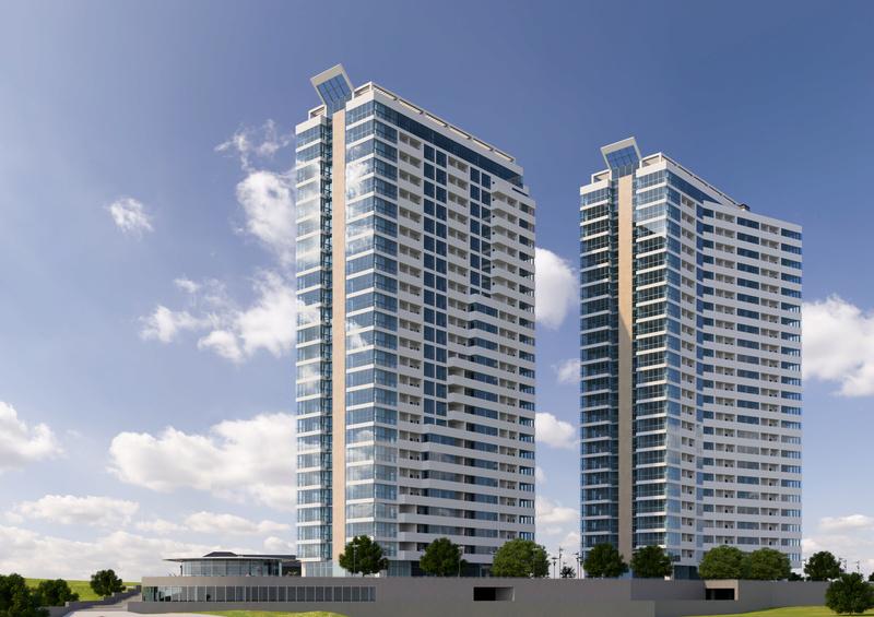 ЖК Новокодакские Башни | 2х25 эт. | 2022 строится Vis425