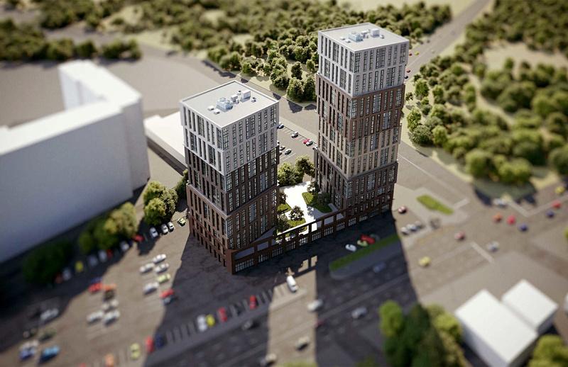 ЖК Грани | 20-25 эт. | 2021 строится Vis516