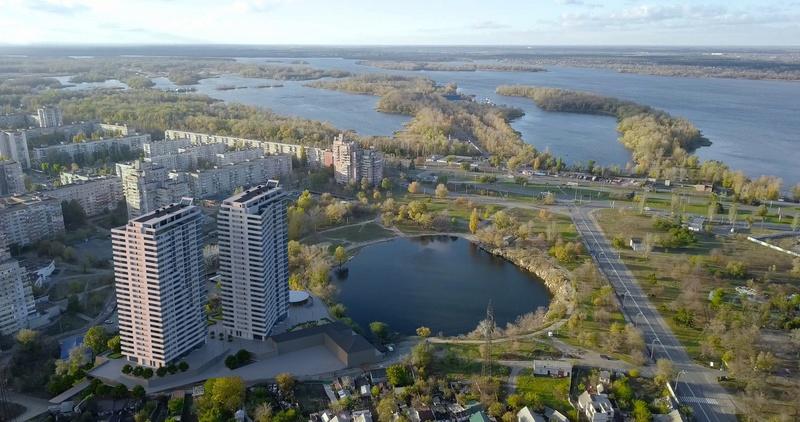 ЖК Новокодакские Башни | 2х25 эт. | 2022 строится Vis523