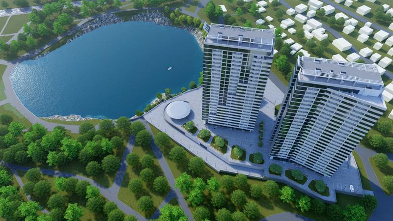 ЖК Новокодакские Башни | 2х25 эт. | 2022 строится Vis716