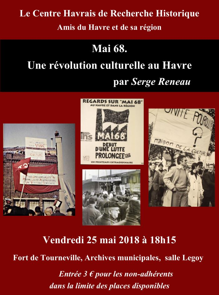 Havre - Conférence MAI 68 au Havre (CHRH) Mai6811