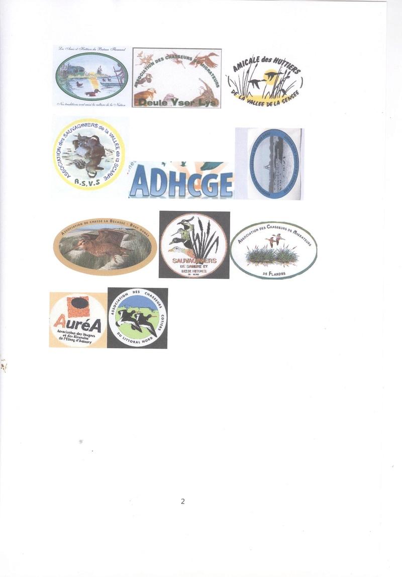 MOTION DES ASSOS des chasseurs gibier d'eau NORD 00114