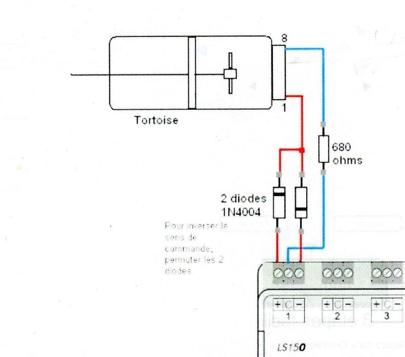 Moteur Tortoise / LS150 Adapta11