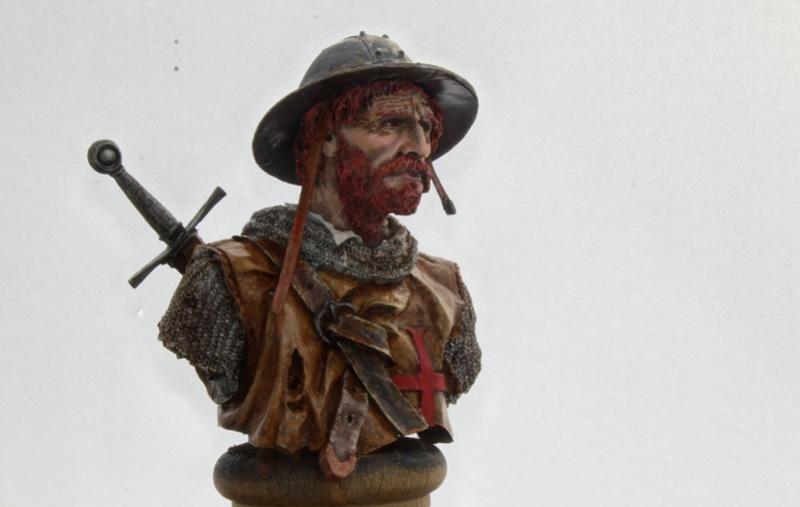 sergent des Templiers au XIIIème siècle 1/10  Img_2511