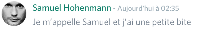 Quand Samuel se confesse Image10