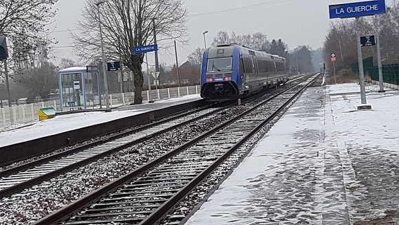 Trains Le Mans-Caen ; voies dégradées, il faut ralentir les rames 5069f710