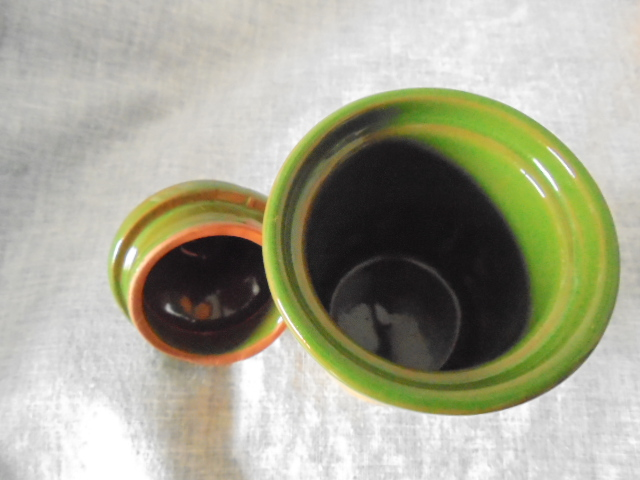 Orzel Settlers Collection - Spice jars in terracotta and green Dsc02925