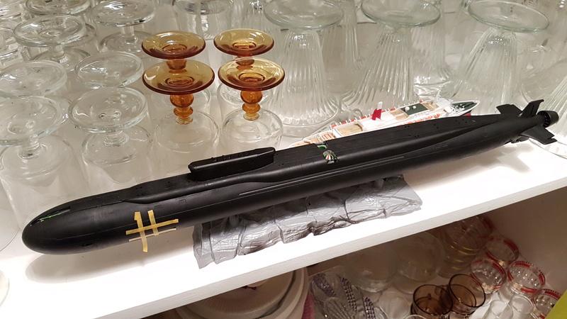 "K551 ""Vladimir Monomach"" (classe Boreï SSBN) 1/350 20180217"
