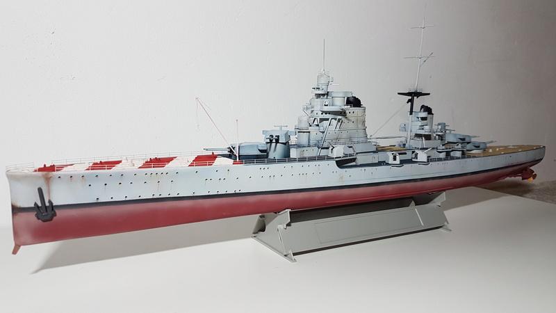 RN Pola (croiseur lourd classe Zara) 1/350 [terminé] 20180510