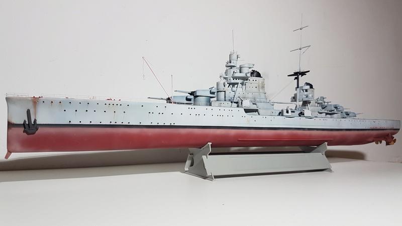 RN Pola (croiseur lourd classe Zara) 1/350 [terminé] 20180516
