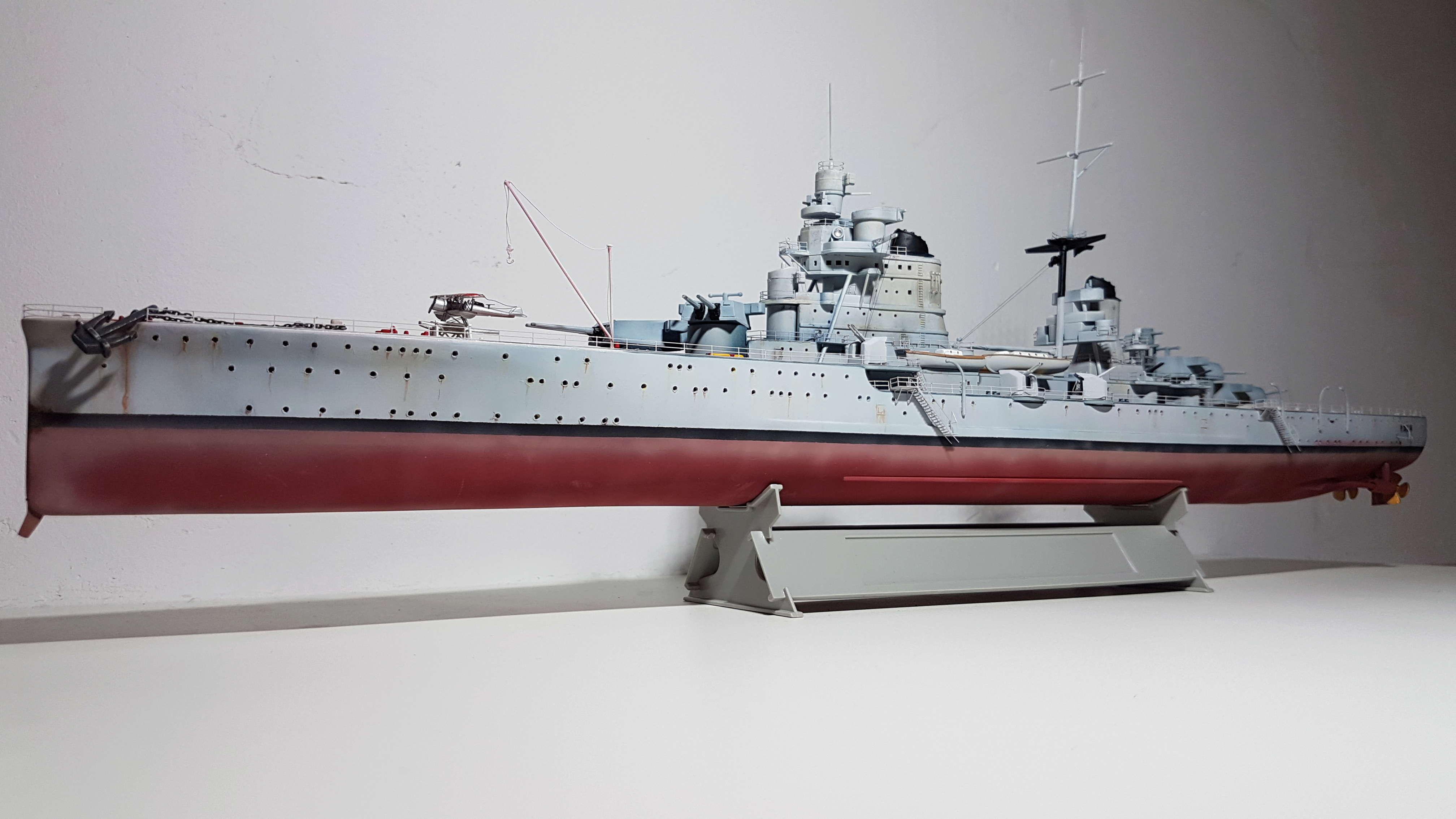 RN Pola (croiseur lourd classe Zara) 1/350 [terminé] 20180522