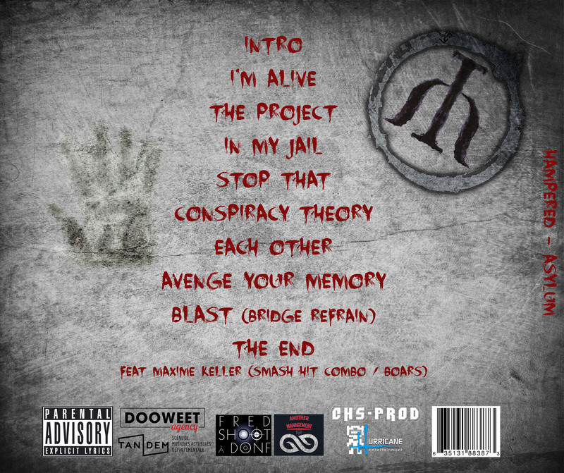 Hampered - Sortie de l'album Asylum Toshop10