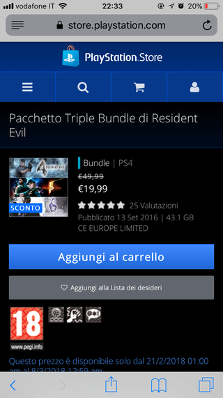 Gioconi in offerta su PlayStation Store! - Pagina 3 D8a83910