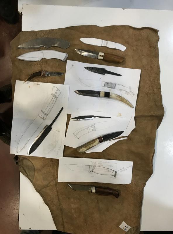 Curso de elaboración de cuchillos Nórdicos. Alfonso García-Oliva. (Iurde)  - Página 2 Img_5212