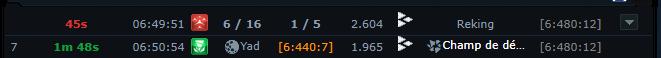 Prestige vs Reking - 3 jours de luttes acharnée ! Raid810
