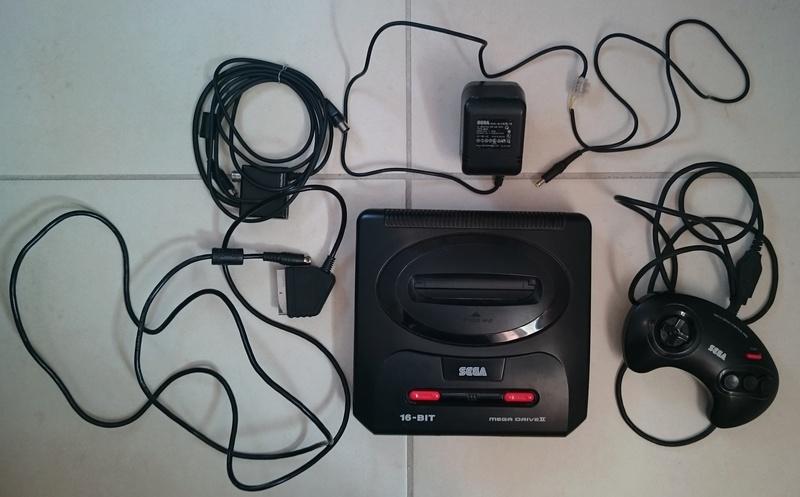 [VDS] Console Sega Megadrive 2 Md210