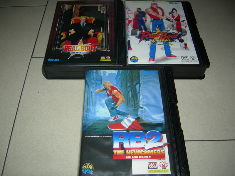SFCHAMPION Neogeo Collection Dscn1225