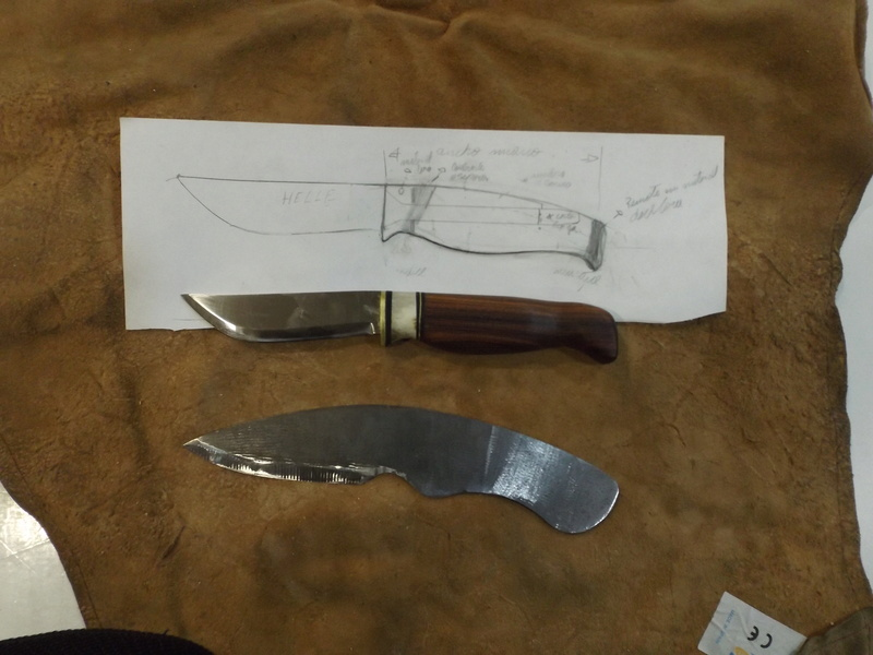 Curso de elaboración de cuchillos Nórdicos. Alfonso García-Oliva. (Iurde)  - Página 2 Dscf3411