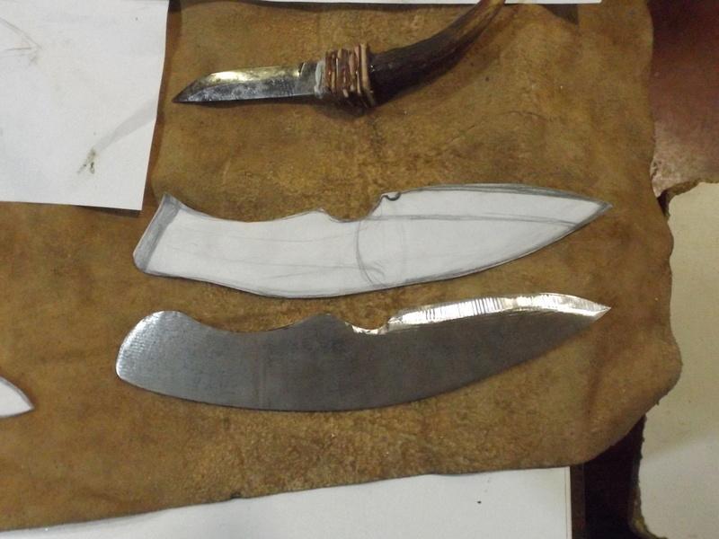 Curso de elaboración de cuchillos Nórdicos. Alfonso García-Oliva. (Iurde)  - Página 2 Dscf3412