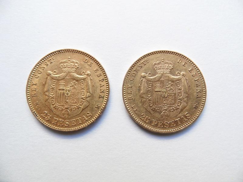 Valoración de estas dos monedas de oro heredadas Moneda10