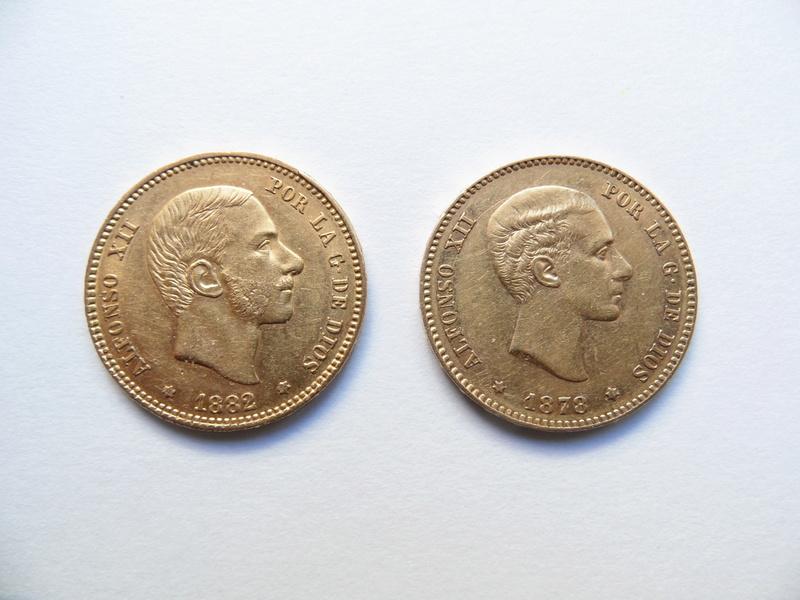 Valoración de estas dos monedas de oro heredadas Moneda11