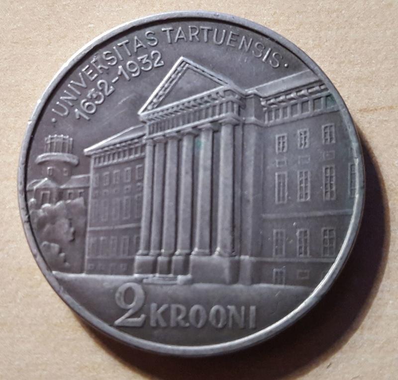2 Krooni de 1932 Estonia 20180210