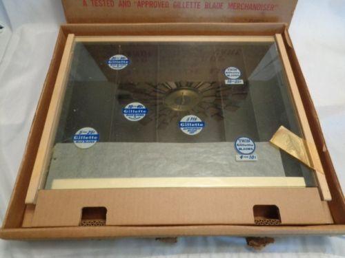 Presentoir de Démonstration Gillette  1949  - NEUF D210