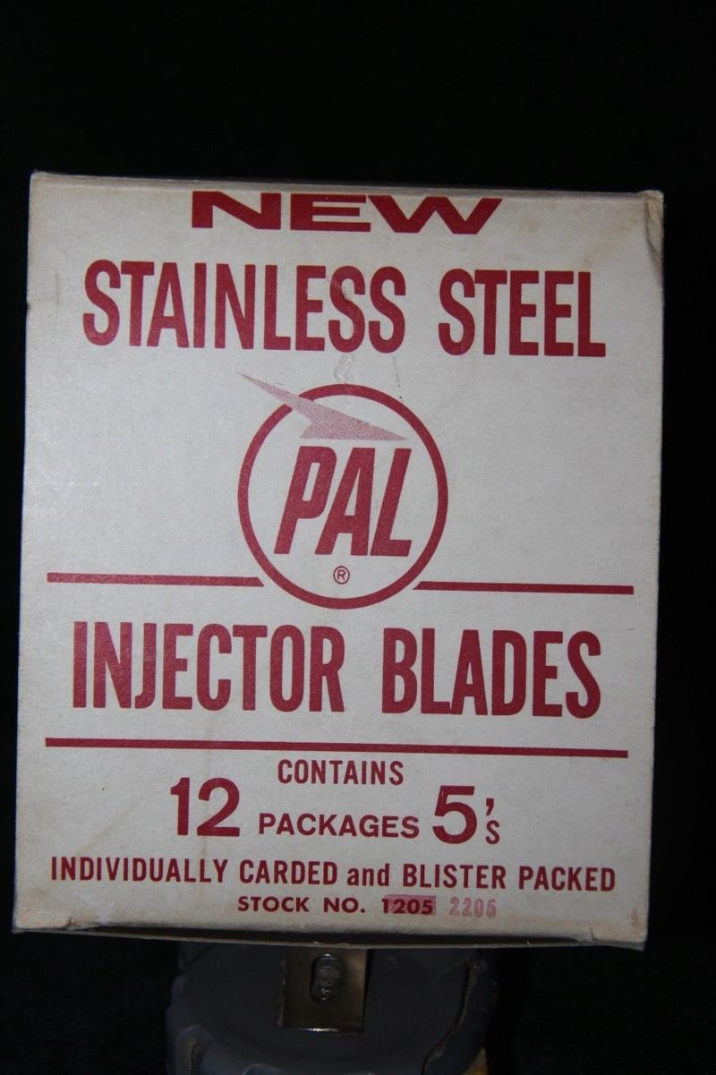 Présentoirs d'injecteurs sur cate PAL Pal111