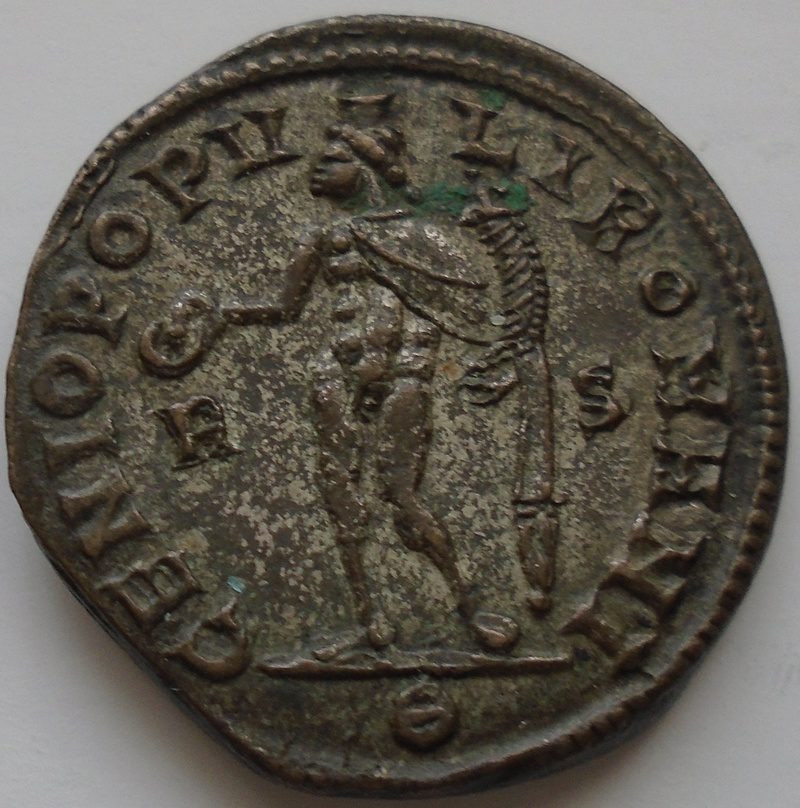 Follis Dioclétien joli revers Diocly10