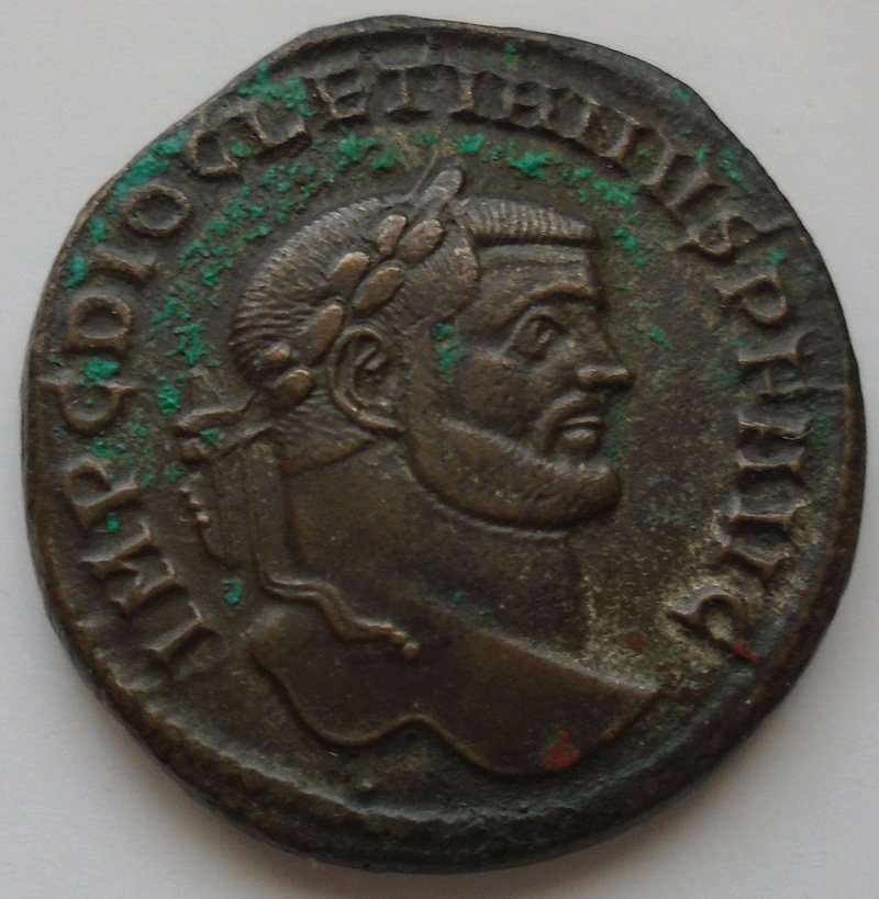 Follis Dioclétien joli revers Diocly11