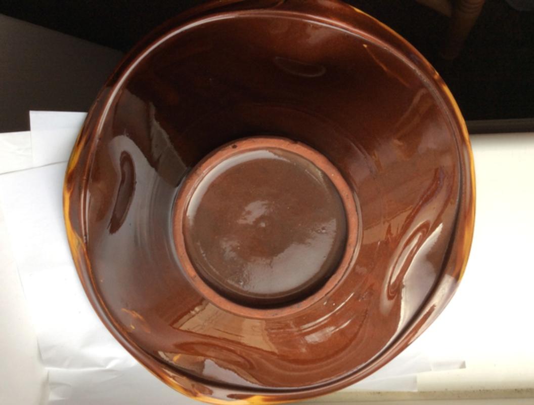 Slipware bowl / dish - Ceramy, Catalan, Spain Dbdcfb10