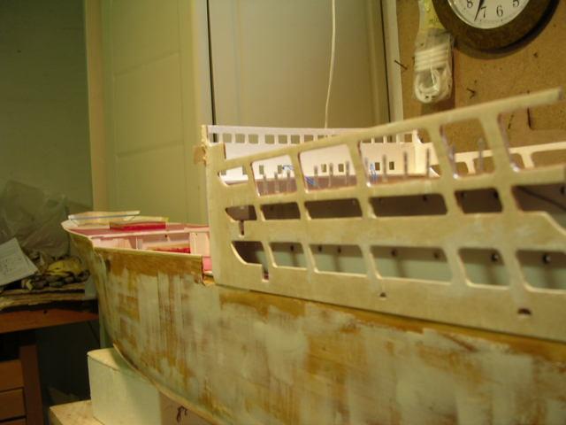 Cargo Messageries Maritime Maori (Plan 1/100°) par sinnesael Constr11