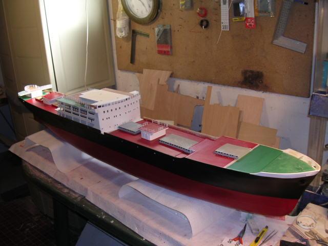 Cargo Messageries Maritime Maori (Plan 1/100°) par sinnesael Constr13