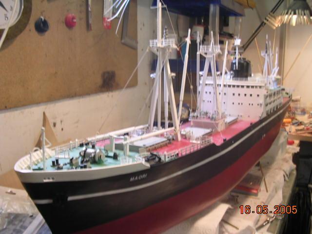 Cargo Messageries Maritime Maori (Plan 1/100°) par sinnesael Constr14