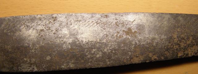 Daga hecha con una hoja de lima. Pc220211